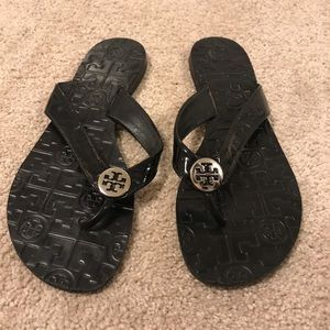 Tory Burch Thora patent leather sandal
